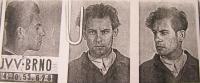 Fotografie Mojmíra Babušíka z osobního spisu Ministerstva národní bezpečnosti