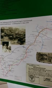 Mapa pochodu smrti