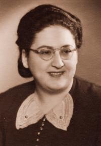 Sestra Anna Weinbergerová, 1940