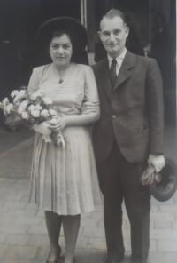 Lisa Miková s manželem