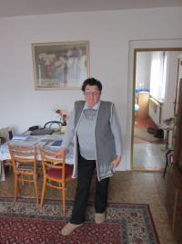 Olga Čvančarová v květnu 2013