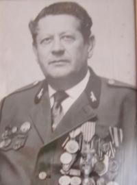 Manžel Václav Čvančara, který bojoval v 1. čs. sboru