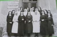 Společně se sestrami v Ročově.