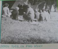 Exercicie (duchovní cvičení) pro dívky, srpen 1968.