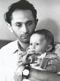 Ladislav Bartůněk and his son Ladislav