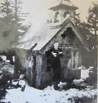 Jan Aust na Červenohorském sedle