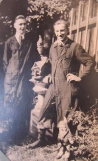 Jan Aust v učení s německým učněm, který ho udal