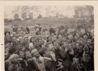 Nábor nováčků v roce 1948