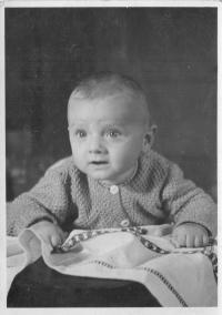 Jan Ruml kolem tří let věku