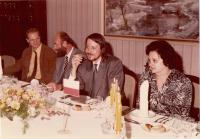 První náměstek federálního ministra vnitra Jána Langoše (s Martinem Fendrychem ještě v roli mluvčího odboru pro uprchlíky)