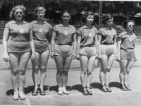 1955 - volleyball team