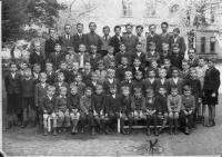 1944 - boys from the Radlice school