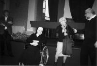 2012 - with Sister Paulina Doušová