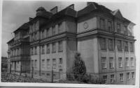1945 - 46 the school building