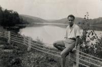 Péter Nikolits , USA, 1960