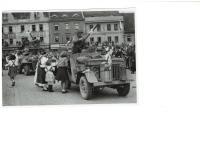 Písek, květen 1945
