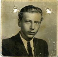 Kamil Šubert, otec pamětníka v mládí