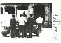 Zadržení Petra Placáka, červen 1989, Stromovka