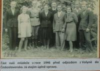 Odjezd do Československa