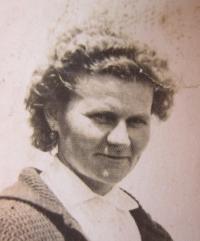 Anna Lašová v roce 1965