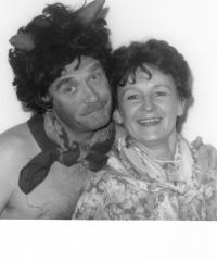 L.Dobner jako Trepifajksl a Hanka Kunertová jako Plajznerka,Dalskabáty1998