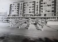 May Day parade in Havířov