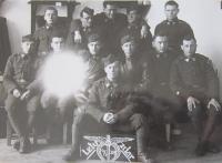 Miroslav Lápka in the 1st Air Force Regiment of T. G. Masaryk