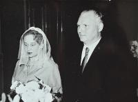 The wedding of Juliána and Miroslav Lápka