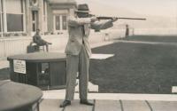 Rudolf Czernin, zřejmě na MS v Monte Carlo (asi 1932)