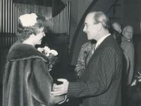 Polyxena a Rudolf Czernin (tchán a snacha)