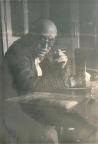 Rudolf Czernin, přibližně 1980 ve Vídni