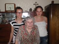 Antonie Málková se studentkami, 2013