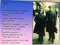 Anna Havranová_s manželem 1945