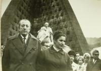 Anna Havranová_s manželem na Dukle