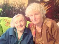 Vlevo Emilie Varská, vpravo Emilie Kuročenko, 14.7.2013