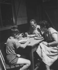 Srodiči, Čeladná 1958
