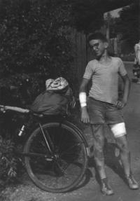 Bouračka na kole