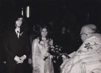 Svatba se Zorou Růžovou, 22. března 1969