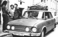 Srodiči před odjezdem do emigrace, 18. října 1978