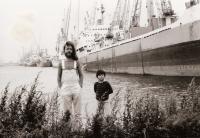 Se synem Vavřincem vRotterdamu, 1980
