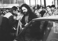 Zletiště na Letnou, 25. listopadu 1989