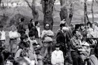 Protest proti jadernému úložišti, Rouchovany, 16. dubna 1992
