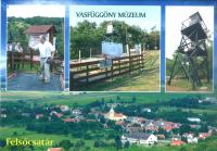 Iron Curtain Museum - postcard
