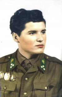 Sándor Goják soldier, 1967