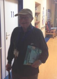 Milos Kocman in 2013 in hospital for veterans in Prague