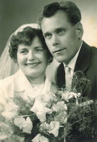 Svatební fotografie bratra Karla
