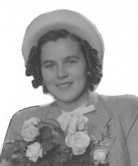 Anna jako mladší půvabná žena