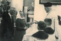 zlatá svatba rodičů Anny Musilové