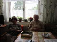 Ingeborg Bahrová se sestrou Friedou