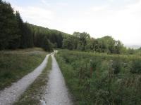 Místo kde stávala obec Kamenné